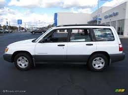 1999 subaru forester lifted car picker white subaru forester
