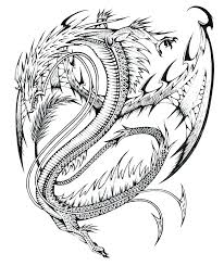 coloring pages dragons child design ideas free intricate