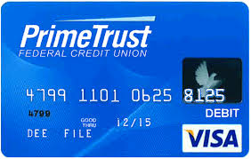 free prepaid debit cards visa debit cards primetrust federal credit union