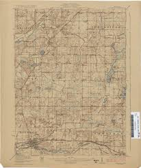 Jackson Michigan Map by