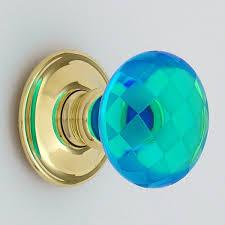 Merlin Glass Door Knobs Cupboard Knobs