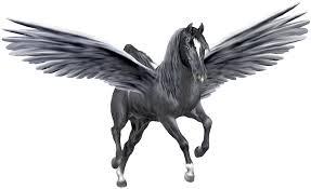 artsie u0027s pegasus black u0026 silver