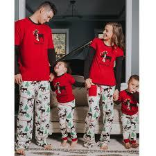 new family pajamas matching family pyjama set pjs new