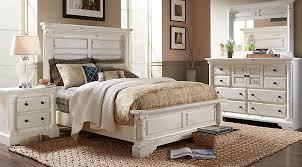 claymore park off white 7 pc queen panel bedroom queen bedroom