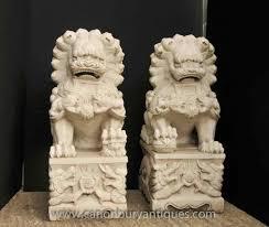 foo dogs for sale garden ornament lion on pedestal sandstone thai foo dog garden
