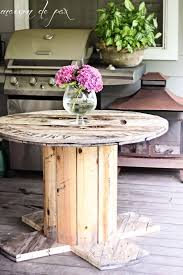 Cable Reel Table by Best 25 Wire Spool Tables Ideas Only On Pinterest Spool Tables
