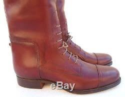 womens equestrian boots size 12 euc s dehner s cordovan equestrian boots