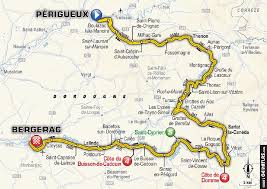 Dordogne France Map by Road Bike Action Tour De France Stage 10 Preview
