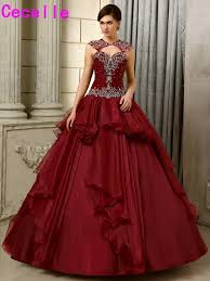 non white wedding dresses 2017 new gown burgundy wedding dresses non white colorful