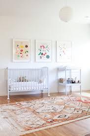 Modern Nursery Rug Light Filled Bohemian Nursery And Playroom Glitter Inc