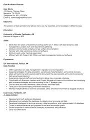Data Architect Resume Sample by Data Architect Cover Letter