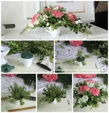 how to make a floral christmas centerpiece grateful prayer