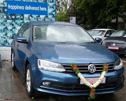 silk blue vw jetta 1 4l tsi my bluejay joins duty team bhp