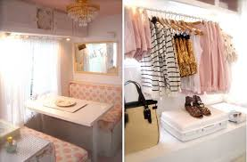 Caravan Interior Storage Solutions Trailer Decoration Ideas Camper Decor The D I Y Dreamer