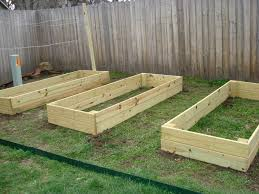 Concrete Planter Boxes by Wood For Raised Beds A Practical Way Of Gardening Homesfeed