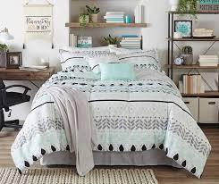 living colors liah mint gray u0026 black 12 piece comforter sets