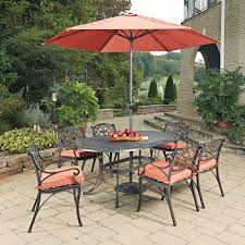 Cast Aluminum Patio Dining Sets - walker edison furniture company all weather grey aluminum outdoor