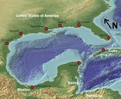 map of the gulf of mexico gulf of mexico