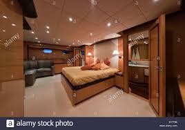 luxury yacht bedroom