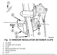 2004 jeep grand cherokee s left rear window just went regulator