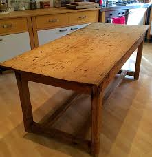 Kitchen Tables And More by Vintage Pine Kitchen Table Irish Farmers Table Farmers Table
