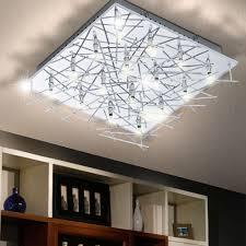 Indirekte Beleuchtung Wohnzimmer Wand Deckenlampe Leuchte Silber Ip20 Beleuchtung Chrom Wand Licht