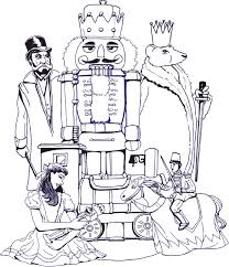 nutcracker ballet coloring pages kids fun page pictures 7568