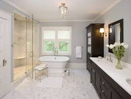 Traditional Bathroom Ceiling Lights Pottery Barn Bathroom Bathroom Traditional With Arched Window