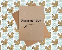card drummer boy