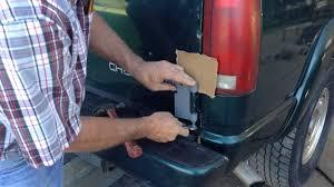 Where To Buy Barn Doors by How To Remove Chevy Gmc Tahoa Suburban Rear Barn Doors Youtube