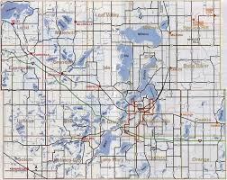 mn counties map map of douglas county mn