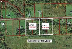 town of easton evergreen subdivision lots for sale