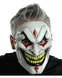 venetian jester costume horrible scary party mask clown jester mask