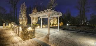 Landscape Lighting Designer Landscape Lighting Design U0026 Installation Sponzilli Landscape Group