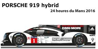 porsche 919 hybrid porsche 919 hybrid 24 hours of le mans 2016 bernhard webber hartley