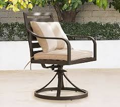 Outdoor Metal Furniture by Metal Patio Furniture Pottery Barn