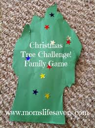 christmas tree challenge family game mom u0027s lifesavers