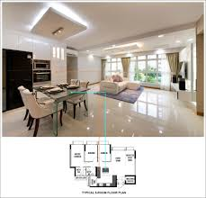 15 concise layout designs for alkaff oasis bidadari living room