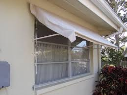 Cloth Window Awnings Retractable Window Awning Made Of Pvc Frame U0026amp Drop Cloth
