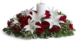 christmas flowers christmas