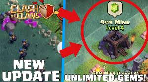 new gem mine in clash of clans new buildings new builders