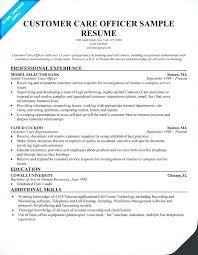 resume for customer service representative in bank resume of customer service representative