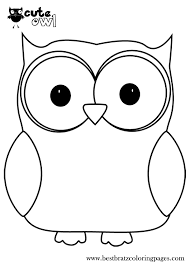 owl coloring page cute baby animals coloring pages az coloring
