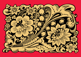 pretty russian ornaments design vector 03 welovesolo