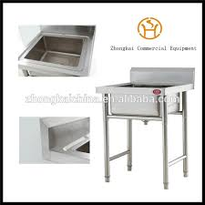 Cheap Stainless Steel Sinks Kitchen by Cheap Universal Commercial Kitchen Triple Bowl Round Legs