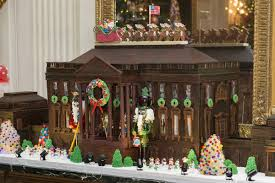 how the white house pastry chef built a 500 lb gingerbread house