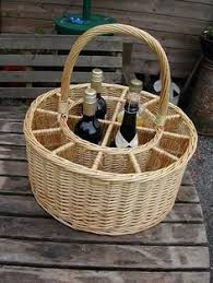 Winebaskets Picnic Baskets Wine Baskets Wicker Wine Hamper With Eight