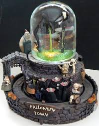 nightmare before musical snow globe home