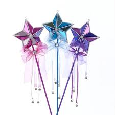 Pack Of Blue Christmas Decorations by Club Pack Of 12 Princess Garden Pink Blue And Purple Star Fairy