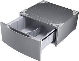 Dark Matter Pedestal Lg Dlex3570v 27 Inch Electric Dryer With Truesteam Flowsense